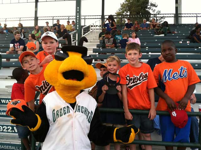 Greenjackets Host Edgefield County Community Night