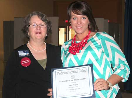 Stacie Morgan Awarded Honeycutt Scholarship
