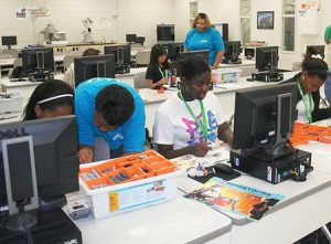 A total of 11 camps are scheduled this summer at Piedmont Technical College. Students can choose from a variety of art, science, career-oriented or self-image improvement camps such as the annual Girls Achieving in Technology and Engineering (GATE) camp, pictured.