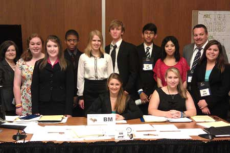 STHS Competes in National Mock Trial Competition