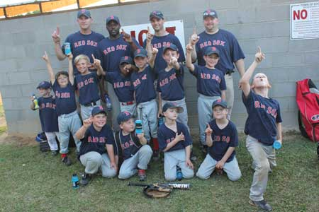 Red Sox Win Coach Pitch Tournament Championship