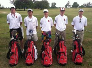 Matt Harley, Cody Bishop, Wil Fagan, Blase Mancine, and Parker Allen.