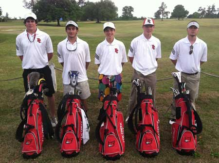 """The Creek"" Golf Team Finishes Second in Region IV A"""