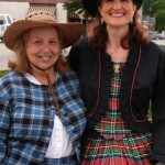 Mrs. Guy and Ms. Browder dressed for the occasion – an 1861 re-enactment.