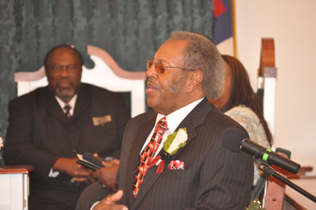 Rev. Jasper Lloyd's Ministry of 25 Years is Celebrated