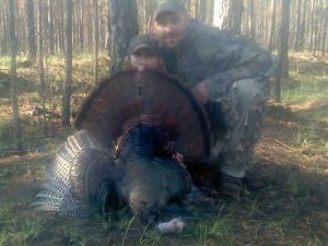 six-year-old-carson-harvests-turkey