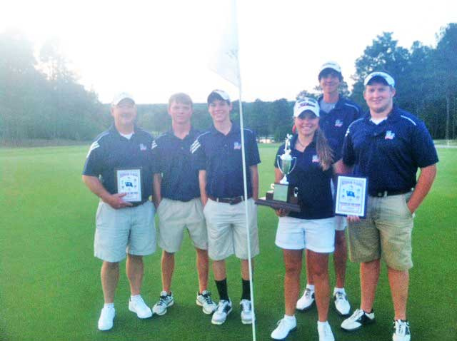 Strom Thurmond Golfers Capture Region Title