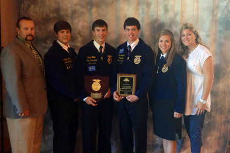 STHS FFA Wins State Farm Business Management Competition