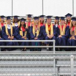 Honor Graduates:  1st Row - Ashley Bodiford, Stephan Bowe, Shelby Collier, Brandy Bonczek (Valedictorian), Jacob Goforth (Salutatorian), Daniel Hoffman, Allie Jhant, Ebony Johnson 2nd Row - Baylor Jones, Margaret Lorimer, Shaquana Miles, Trent Miller, Jacqueline Polz, Kaitlyn Pugh, Rachel Rudd, George Thompson *Not pictured: McKenzie Talbert