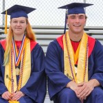 Brandy Bonczek (Valedictorian), Jacob Goforth (Salutatorian)