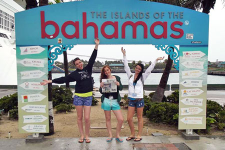 The Advertiser Goes to the Bahamas