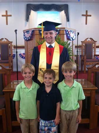 Providence Baptist Church Recognizes Graduates