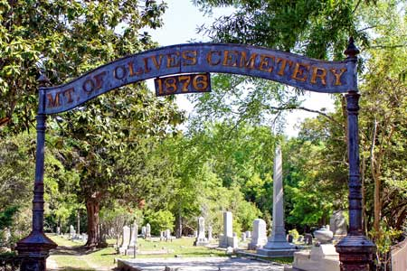 Mt. of Olives Cemetery Sees Great Improvement