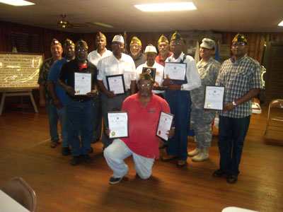 VFW Post 6932 Holds Award Ceremony