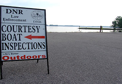 DNR Courtesy Boating Inspections for June 29, July 4 Holiday