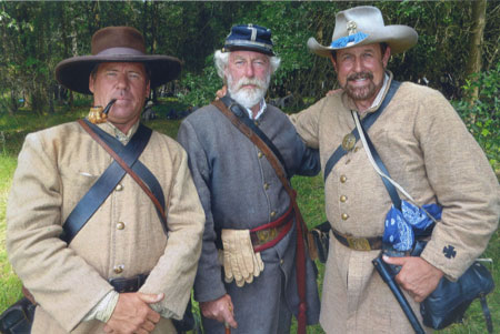 "Two Local ""Confederates"" Join in at Gettysburg"