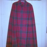 Plaid cape from Jean's collection