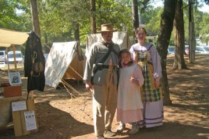 2012 Festival – Confederate Camp
