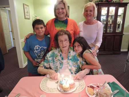 A Birthday Celebration at Forest View