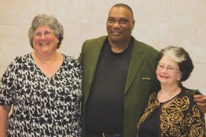 Libba Ingram – Teacher of the Year, Leroy Rouse – Support Staff of the Year, Becky Turner – Citizen of the Year