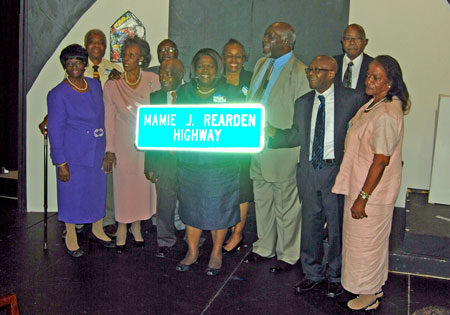 Mamie J. Rearden Highway Dedication Ceremony