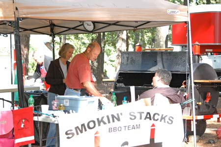BBQ COOK-OFF On Friday Night of the Heritage Festival Weekend