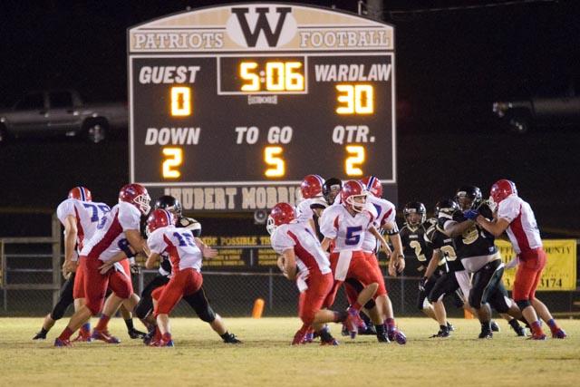Jefferson Davis Academy vs. Wardlaw Academy 9-20-13