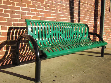 Johnston Development Corporation Donates Benches for Downtown Johnston