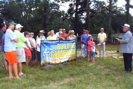 Edgefield Methodists Break Ground for Parsonage