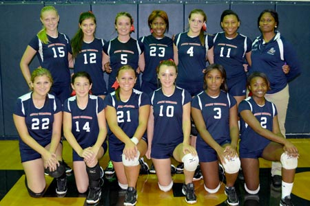Strom Thurmond Lady Rebels Varsity Volleyball Opens Strong