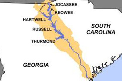 Savannah River Basin Water Management Website Operational Again