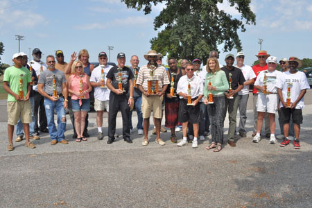 Trophy Winners at the Recent Annual Car-Truck-Bike Show at Bettis