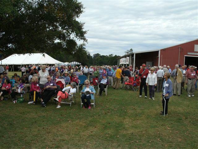 ARA Holds Reunion at the Murphy Farm
