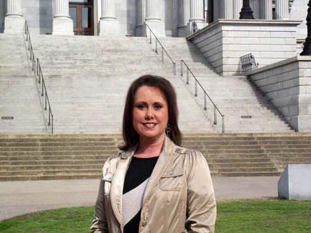 Melanie Gambrell, Daughter of Rose and Sonny Erwin, is Beckman Executive Director