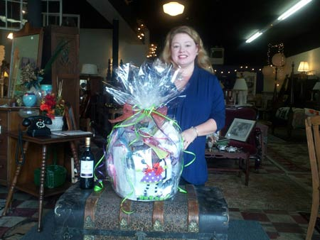 Winner of Fall Festival Basket