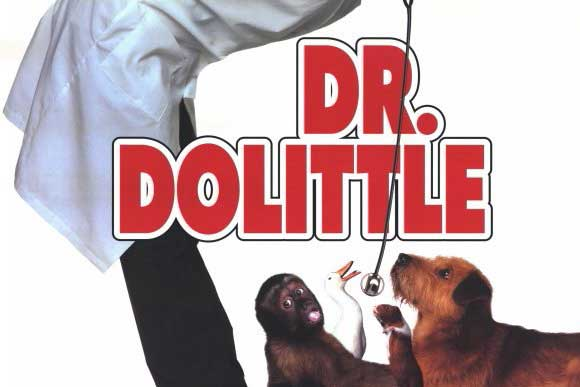 "Downtown Drive-In Movie Showing ""Dr. Dolittle"""