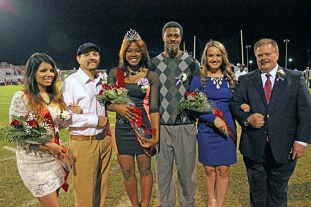 Shayy Widner Crowned STHS Homecoming Queen