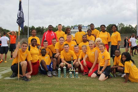 Rebel Cadets Win Trophy