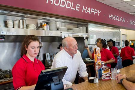 Local Huddle House Back in Business