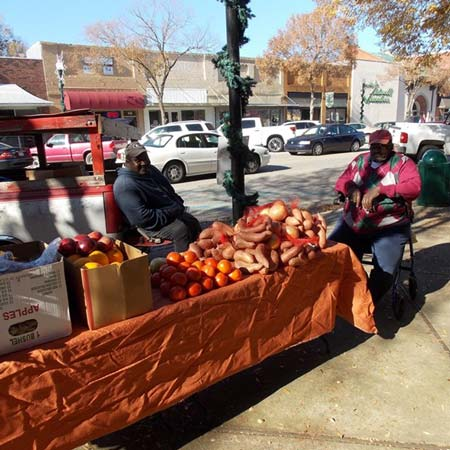 Barbecue Before the Johnston Farmer's Holiday Market, Dec. 5