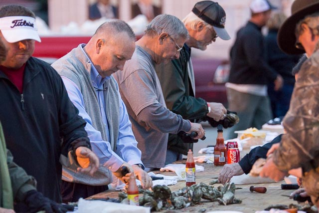 Chamber Hosts Oyster Roast-Low Country Boil-BBQ Event