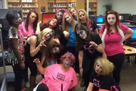 Breast Cancer Awareness Month at Fox Creek