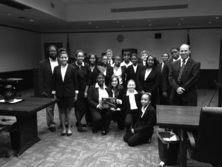 JET Mock Trial Team Going to State