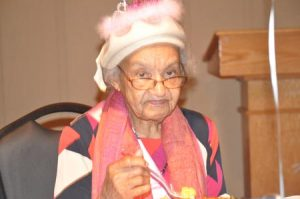 Mrs. Mattie S. Williams recently celebrated her 100th birthday.
