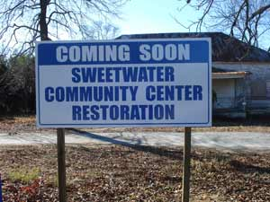 Sweetwater-Community-Center-12-17-13-Restore-Sign