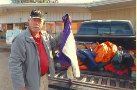 Sertoma Gives to Methodist Coat-Drive