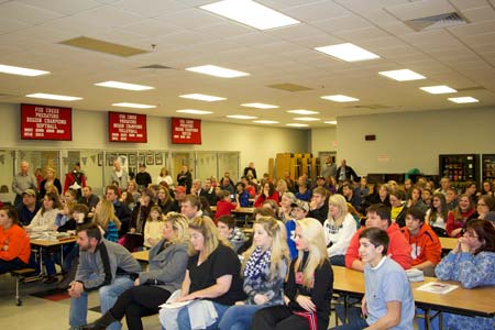 Fox Creek High School Holds Open House