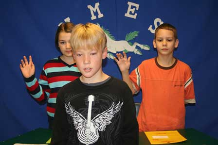 Merriwether Elementary's Own News Show