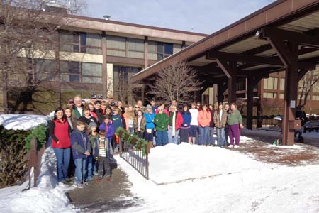 Ski Trip Taken by Four Area Churches