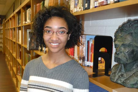 Adams Wins State Scholarship Contest